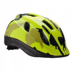 Casca copii BBB BHE-3733 camouflage galben neon M