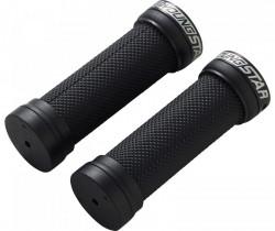 Mansoane Reverse Youngstar Lock-on 28x98mm negru/negru