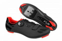 Pantofi ciclism FLR F-11 Pro Road - Negru-Rosu