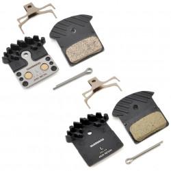 Placute frana Shimano J04C metal