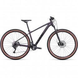 Bicicleta CUBE ACCESS WS RACE Smokeylilac Black