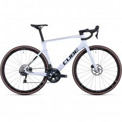 Bicicleta CUBE AGREE C:62 Flashwhite Carbon