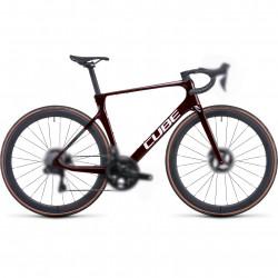 Bicicleta CUBE AGREE C:62 SLT Liquidred Carbon