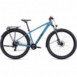 Bicicleta CUBE AIM ALLROAD Blue Red