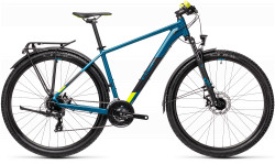 BICICLETA CUBE AIM ALLROAD Pinetree Yellow