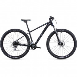 Bicicleta CUBE AIM RACE Black Azure