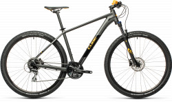 BICICLETA CUBE AIM RACE Darkgrey Orange