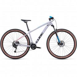 Bicicleta CUBE AIM SL Prismagrey Blue Red