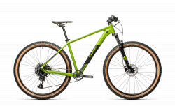 BICICLETA CUBE ANALOG Deepgreen Black