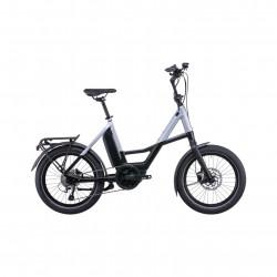 Bicicleta CUBE COMPACT SPORT HYBRID 500 Black Polarsilver