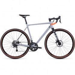 Bicicleta CUBE CROSS RACE Grey Orange