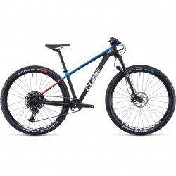 Bicicleta CUBE ELITE C:62 SL ROOKIE Carbon Blue Red