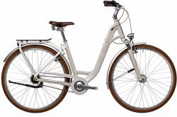 BICICLETA CUBE ELLA CRUISE EASY ENTRY Cream Orange