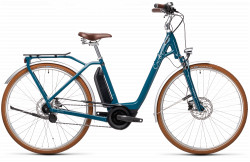 BICICLETA CUBE ELLA CRUISE HYBRID 400 EASY ENTRY Petrol Grey