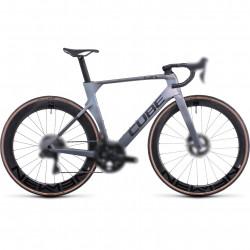 Bicicleta CUBE LITENING C:68X SLT Prizmsilver Grey