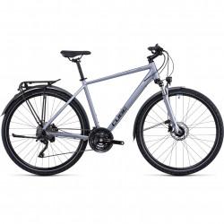 Bicicleta CUBE NATURE EXC ALLROAD Polarsilver Black