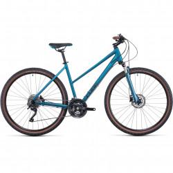 Bicicleta CUBE NATURE EXC TRAPEZE Blue Blue