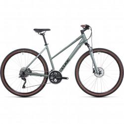Bicicleta CUBE NATURE PRO TRAPEZE Silvergreen Black