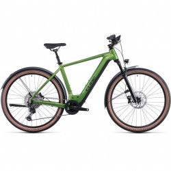 Bicicleta CUBE NURIDE HYBRID SL 750 ALLROAD Forest Black