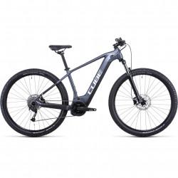 Bicicleta CUBE REACTION HYBRID PERFORMANCE 500 Metallicgrey White