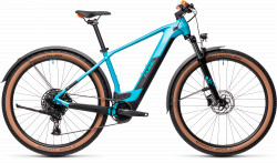 BICICLETA CUBE REACTION HYBRID PRO 625 29 ALLROAD Petrol Orange