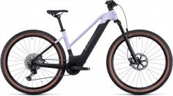 Bicicleta CUBE REACTION HYBRID SLT 625/750 29 TRAPEZE Violetwhite Black
