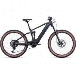 Bicicleta CUBE STEREO HYBRID 120 SLT 625/750 PRIZMBLACK BLACK Prizmsilver Black
