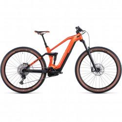 Bicicleta CUBE STEREO HYBRID 140 HPC PRO 625 Sparkorange Black