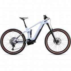 Bicicleta CUBE STEREO HYBRID 160 HPC RACE 625 27.5 Frostwhite Grey