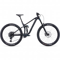 Bicicleta CUBE STEREO ONE77 PRO 29 Black Anodized