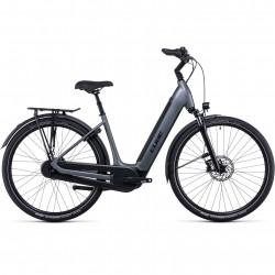 Bicicleta CUBE SUPREME RT HYBRID PRO 500 EASY ENTRY Flashgrey Black
