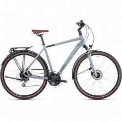 Bicicleta CUBE TOURING PRO Lunar Grey