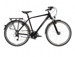 "BICICLETA KROSS TRANS 4.0 28"" BLACK GREY M"