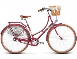 Bicicleta Le Grand Virginia 3 18' Burgundy Matte