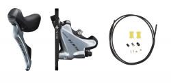Frana pe Disc Hidraulica Sosea Shimano 105 ST-R7020 + Maneta Schimbator Fata