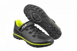 Pantofi ciclism FLR Rexston MTB - Negru - Galben Neon