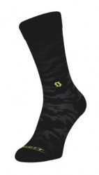 SOSETE SCOTT TRAIL CAMO CREW BLACK YELLOW