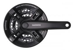 Angrenaj Shimano Tourney FC-M171 42/34/24T Brat 175mm 6/7/8 viteze negru