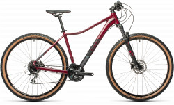 BICICLETA CUBE ACCESS WS EXC Darkberry Black
