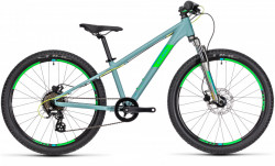 BICICLETA CUBE ACID 240 Disc grey´n´neongreen