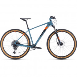 Bicicleta Cube ACID Bluegrey Orange 2020 21' 29