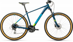 BICICLETA CUBE AIM RACE Blueberry Lime