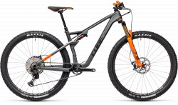 BICICLETA CUBE AMS 100 C:68 TM 29 Flashgrey Orange