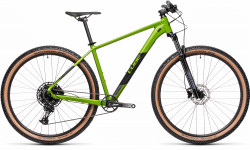 BICICLETA CUBE ANALOG DEEPGREEN BLACK RS