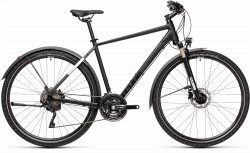 BICICLETA CUBE NATURE EXC ALLROAD Black Grey