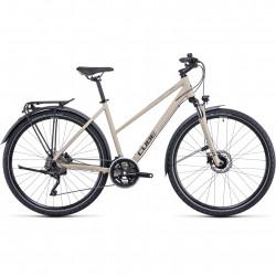 Bicicleta CUBE NATURE PRO ALLROAD TRAPEZE Desert Black
