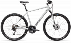 BICICLETA CUBE NATURE PRO GREY IRIDIUM
