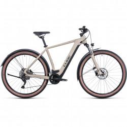 Bicicleta CUBE NURIDE HYBRID PRO 625 ALLROAD Desert Black