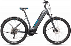 BICICLETA CUBE NURIDE HYBRID PRO 625 ALLROAD EASY ENTRY Grey Blue