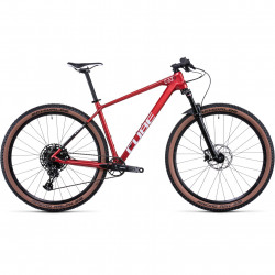 Bicicleta CUBE REACTION C:62 ONE Red White